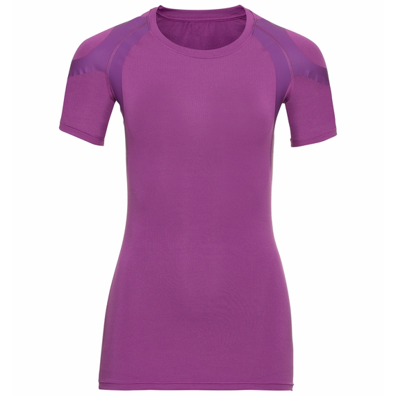 Women's ACTIVE SPINE LIGHT Baselayer T-Shirt, hyacinth violet, large