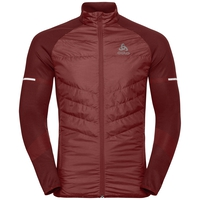 Jacket IRBIS HYBRID Seamless X-Warm, syrah - fiery red, large