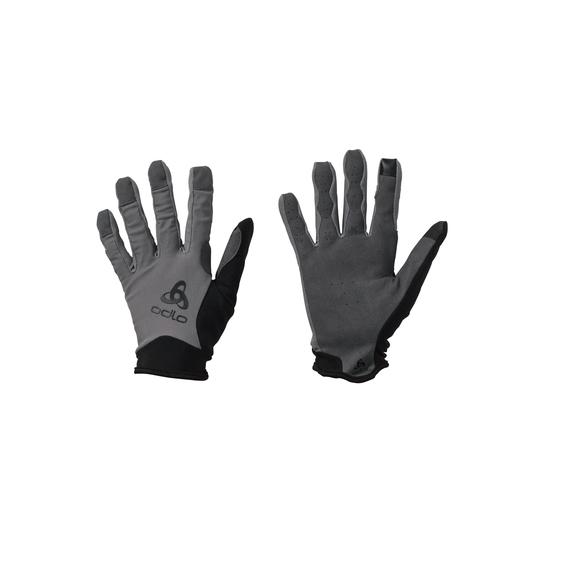 ACTIVE OFFROAD FF Gloves, odlo steel grey, large