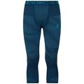 Men's BLACKCOMB 3/4 Base Layer Pants, poseidon - blue jewel - atomic blue, large