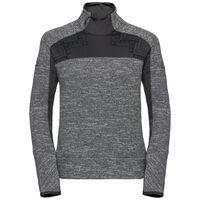 Midlayer 1/2 zip SKADI X-WARM, grey melange - odlo graphite grey, large