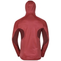 Herren BLAZE CERAMIWARM Midlayer Hoody, syrah - fiery red - stripes, large