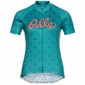 Women's ELEMENT Short-Sleeve Cycling Jersey, balsam - graphic SS21, large