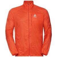 Men's ZEROWEIGHT Running Jacket, mandarin red, large