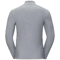 Midlayer full zip BERGEN, odlo concrete grey, large