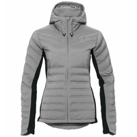 Women's SARA COCOON Insulated Jacket, odlo concrete grey, large