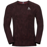 BL Top Crew neck l/s VIGOR, syrah - black, large
