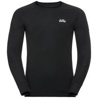 Herren Adam Funktionsunterwäsche Langarm-Shirt, black, large