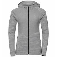 Damen MILLENNIUM PRO Laufjacke, odlo concrete grey - silver cloud - odlo concrete grey, large