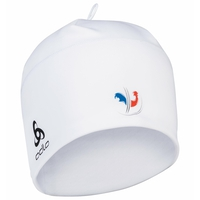 POLYKNIT FAN WARM Hat, France Fan White, large