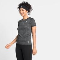 Women's BLACKCOMB PRO T-shirt, black melange, large