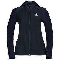 SYNERGY ski midlayer jacket, black, large