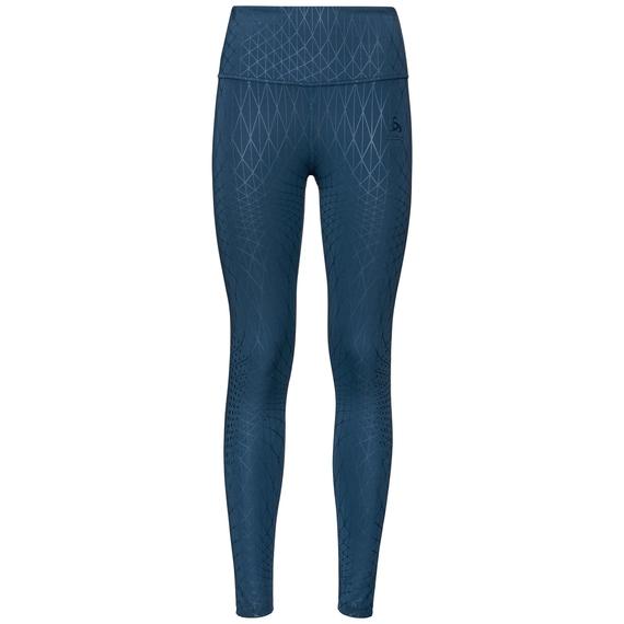 LOU MEDIUM-tight voor dames, blue wing teal - AOP FW19, large