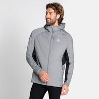 MILLENNIUM X WARM-jas voor heren, grey melange, large