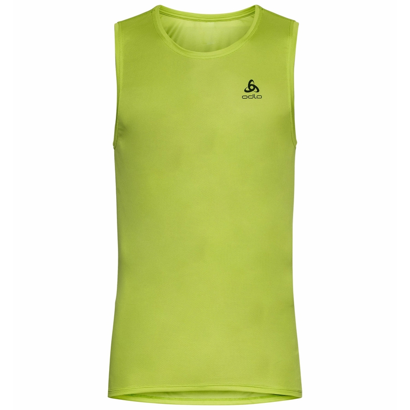 Men's ACTIVE F-DRY LIGHT ECO Tank Top, macaw green, large