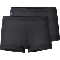 ACTIVE CUBIC LIGHT Panty im Doppelpack, ebony grey - black, large
