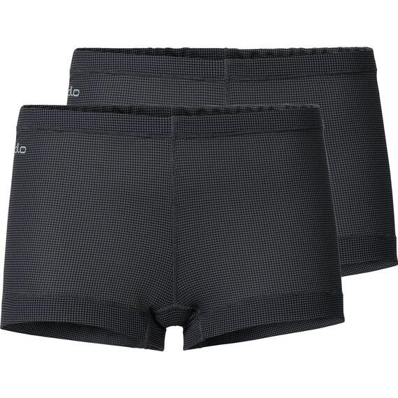 Panty ACTIVE CUBIC LIGHT 2 Pack ST, ebony grey - black, large
