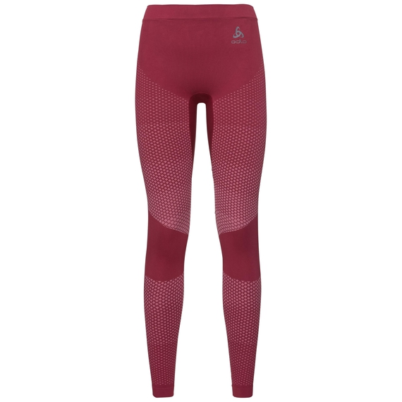 SUW Bottom Pant PERFORMANCE Essentials WARM, rumba red - mesa rose, large
