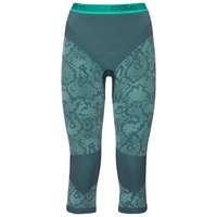 Pants 3/4 Blackcomb EVOLUTION WARM, peacoat - mint leaf - mint leaf, large
