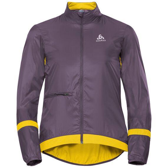 Jacket FUJIN, vintage violet - sulphur, large