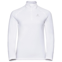 Women's BERNINA 1/2 Zip Midlayer, white, large