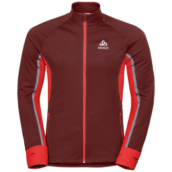 Jacket AEOLUS PRO Warm, syrah - fiery red, large