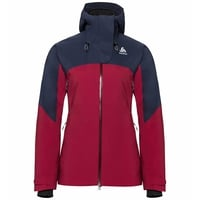 Veste isolante SLY X, diving navy - rumba red, large