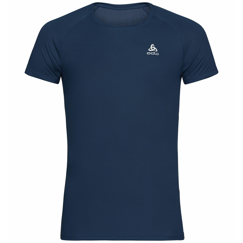Men's ACTIVE F-DRY LIGHT ECO Base Layer T-Shirt, dark sapphire, large