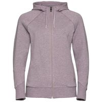 Hoody midlayer ALMA NATURAL, quail melange, large
