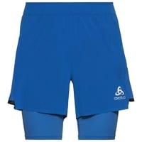 Herren ZEROWEIGHT CERAMICOOL PRO 2-in-1-Shorts, nebulas blue - nebulas blue, large