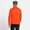 Midlayer a manica lunga con mezza zip MILLENNIUM ELEMENT da uomo, orange.com melange, large