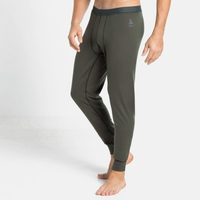 Men's NATURAL 100% MERINO WARM Base Layer Pants, climbing ivy, large