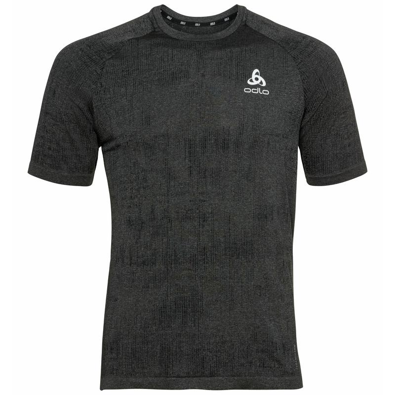 Men's BLACKCOMB PRO T-shirt, black melange, large