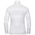 Women's SILVRETTA CERAMIWARM 1/2 Zip Midlayer, white - AOP FW19, large