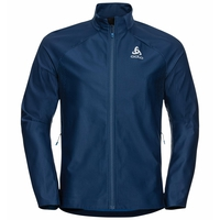 Men's ZEROWEIGHT FUTUREKNIT Cross-country Jacket, estate blue - directoire blue, large
