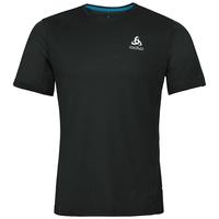 BL TOP Crew neck s/s SLIQ, black, large