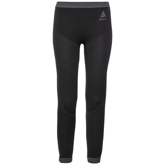 PERFORMANCE WARM KIDS Base Layer Pants, black - odlo graphite grey, large
