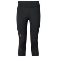 SLIQ running Tights 3/4 women, black, large