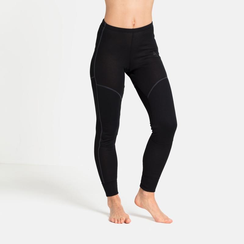 Women's ACTIVE X-WARM ECO Base Layer Bottoms, black, large