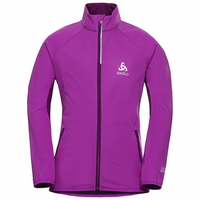 AEOLUS ELEMENT KIDS Jacket, charisma - purple cactus flower, large