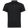Polo manches courtes SHELBY, black, large