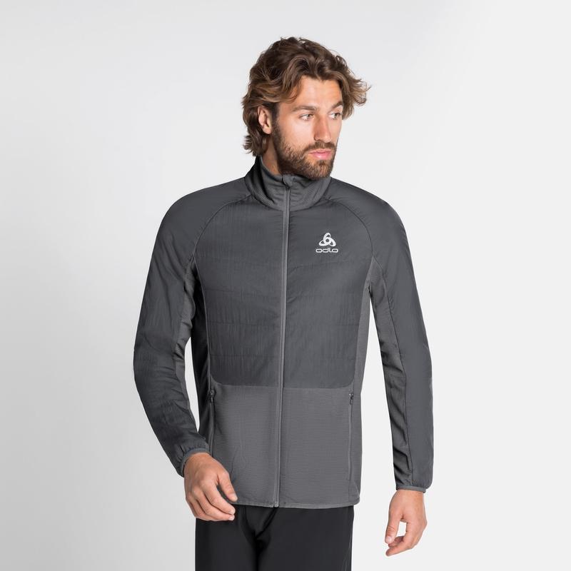 Men's MILLENNIUM S-THERMIC ELEMENT Jacket, odlo graphite grey - odlo steel grey, large