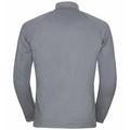 Pull à col zippé PAZOLA RIBBON pour homme, grey melange - graphic FW20, large