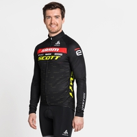 Stand-up collar l/s full zip SCOTT-SRAM RACING, SCOTT SRAM 2020, large