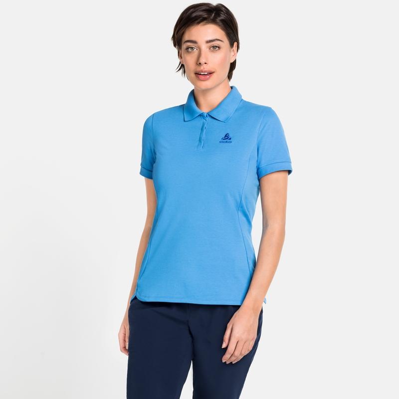 Women's NEW TRIM Polo Shirt, marina, large