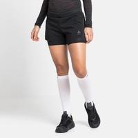 Short de running 2-en-1 ZEROWEIGHT 3 INCH BLACKPACK pour femme, black - blackpack, large