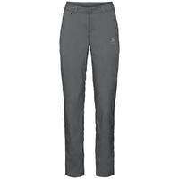 Pantaloni CONVERSION da donna, odlo graphite grey, large