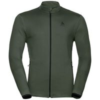 Midlayer full zip ALAGNA, climbing ivy, large