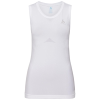 Women's PERFORMANCE LIGHT Base Layer Singlet, white, large