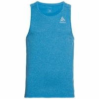 Men's MILLENNIUM ELEMENT Singlet, blue aster melange, large